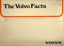 VOLVO 244 245 264 fait Pack 1975 marché britannique Portefeuille la brochure commerciale