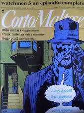 Corto Maltese 8 1989 con inserto WATCHMEN 5 episodio completo  [G.142]