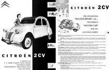 Citroen 2CV (c1949) - The Sensational Multipurpose Car