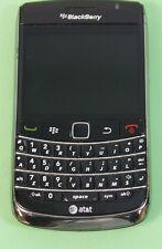 Used Working Black UNLOCKED GSM Blackberry RIM BOLD 2 9700 AT&T BRANDED