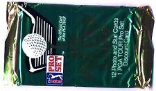 BOOSTER - GOLF 1991 PGA Tour cards - PRO SET (12 Cartes +