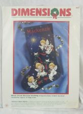 Dimensions Music From Heaven Christmas Cross Stitch Stocking Kit Ruth Morehead