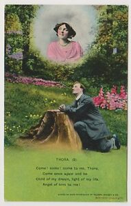 "Song Card postcard - ""Thora"" by Bamforth - card No. 4612 (A7)"