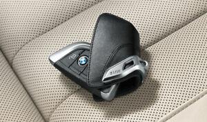 Original BMW Schlüsseletui mit Edelstahlspange 82292344033