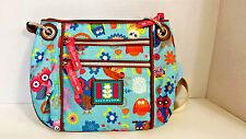 LILY BLOOM KYRA RING CROSSBODY NWT OWL ALWAYS LOVE YOU purse bag $40