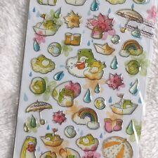 Frog 3D Gel Pegatinas día lluvioso ARCO IRIS álbum de recortes diario Cardmaking Arte Hazlo tú mismo