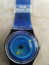 """orologio swatch STANDARD GENT modello """"BATIK""""GG 181 anno 1999 NUOVO RARO"""