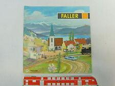 AV405-0,5# Faller Katalog 1963/64 DM mit AMS: Mühle, Kirche, Häuschen etc