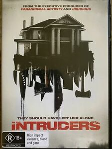 DVD: Intruders - They Should Have Left Her Alone (includes postage)