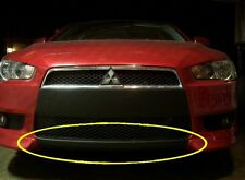 Bottom piece only. Precut lower front bumper lip Overlay Evo X 10 style graphics