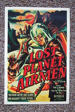 Lost Planet Airmen Lobby Card Movie Poster Tristram Coffin