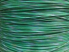 AUTOMOTIVE WIRE 20 AWG HIGH TEMP TXL WIRE GREEN W/ LT BLUE STRIPE 25 FT COIL
