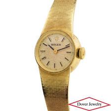 Rolex Swiss Vintage 14K Yellow Gold Ladies Winding Watch 27.1 Grams NR