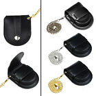 Men's NEW Black Vintage Pocket Coin Purse Pouch Bags Watch Holder Box With Chain