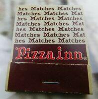 Vintage Pizza Inn Matchbook Unused