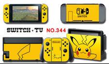 Vinyl Decal Skin Sticker Protector for Nintendo Switch Pokemon Pikachu