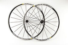 Wheelset with Mavic Akysium clincher rims and Mavic hubs from the 2010s