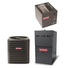 Goodman 2.5 Ton Gas Furnace 14 Seer Split System Ac 80% Afue Upflow 60000 Btu