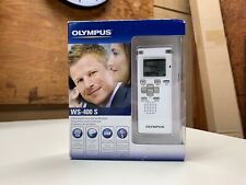 NEW Olympus WS-400S WMA DIGITAL VOICE STEREO RECORDER *FACTORY SEALED*