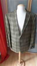 Barbour señores Jacket/chaqueta 2 Button a cuadros talla 52 PVP euro 399,00 *** nuevo