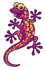Autoaufkleber Sticker Lizard Eidechse Gecko lila NEU Aufkleber