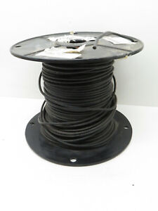 (400ft) Service 10AWG Stranded Black Type THW 7-Strand Copper Wire #10 Gauge