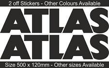 ATLAS GRU IDRAULICA | Adesivo Decalcomania Grafica | SF1, SF2 | Vari Colori | BB181