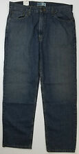 Levis Mens Signature Jeans Relaxed Easy Fit Straight Leg 36W x 32L (A8-117)
