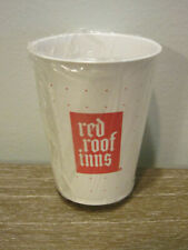 Vintage red roof inns Motel Plastic Cup - Unused - Still in Plastic