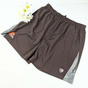 NFL Cleveland Browns Reebok Team Issue #30 Brown Orange Shorts Size 2XL