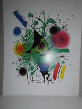 Joan Miró - SINGING FISH - 24 x 30 cm - VG Bild-Kunst Bonn - NEU (91)
