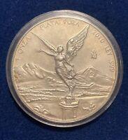 2010 - MEXICO LIBERTAD 1 OUNCE .999 SILVER COIN BU