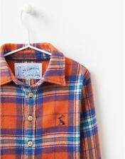 Joules Checked 100% Cotton Shirts (2-16 Years) for Boys