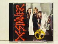 X-Sinner - Peace Treaty 1991 Pakaderm Records Rare OOP HTF Hair Metal Hard Rock