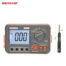 NKTECH NK70A Digital Handheld MegOhm Meter Isolierung Tester DCV-ACV Widerstand