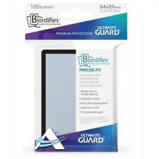 100 Bustine Protettive STANDARD Size ULTIMATE GUARD PreciseFit Perfect BORDIFIES