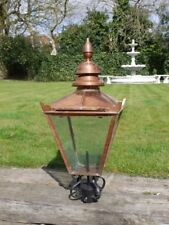 Victorian Style Traditional  post lamp Top post lantern garden 97cm copper