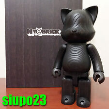 Medicom 400% Ny@rbrick ~ Cat Wood Ny@bric Black Color (Bearbrick Be@rbrick)
