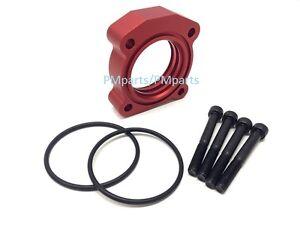 Red Billet Aluminum Throttle Body Spacer for 04-12 SCION tC 2.4L & 08-11 xB 2.4L