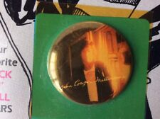 Vintage 1980s Band JOHN COUGAR MELLENCAMP Pinback Button Badge Pin 1.25 Inch