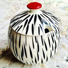 Rare Antique Art Deco (1930 S) anglais Sadler porcelaine sugar pot