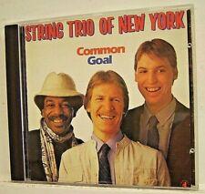 STRING TRIO OF NEW YORK - 'Common Goal' - (CD 1987 Circa)**EXC**