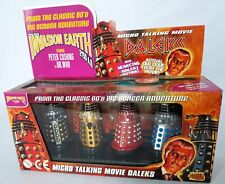 Vintage Doctor Who Product Enterprise - Talking Movie Dalek Set of 4 in Box