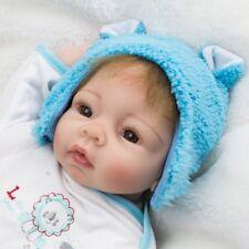SOFT VINYL NEWBORN BABY BOY CUTE REBORN DOLL CHILDREN GIFT UK ARTIST COLLECTION
