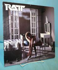 Ratt ~ Invasion of Your Privacy ~ 1985 Atlantic Records Vinyl LP ~  81257-1