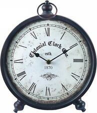 NEW 25cm Colonial 1870 Mantle Clock Fashion Clock