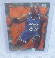 1996-97 Fleer Basketball Shaquille Oneal Hardwood Leaders Card #138 HOF