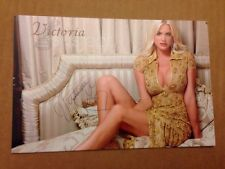 Victoria Silvstedt Signed 4X6 photo Playboy Bunny Model Actress AUTO