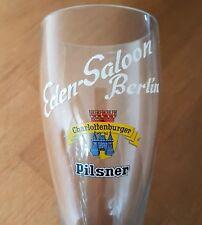 Bierstiefel Charlottenburger Pilsner Engelhardt Brauerei 'Eden-Saloon Berlin'
