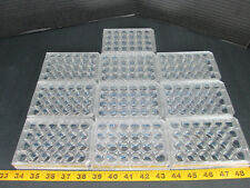 Falcon Lot of 10 Used 24 Multiwell 353047 W/ Lid Tissue Culture Plate Lab CS